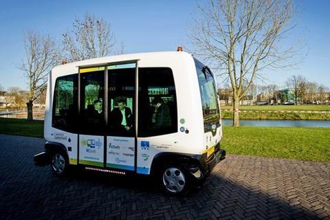 Driverless buses Helsinki