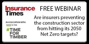 Construction and 2050 Net Zero targets | Webinar | Insurance Times