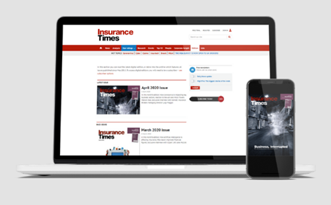 Insurance Times online subscription