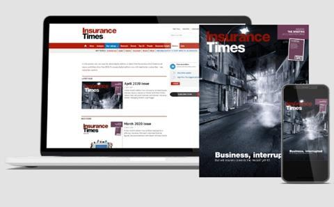 Insurance Times full package subscription