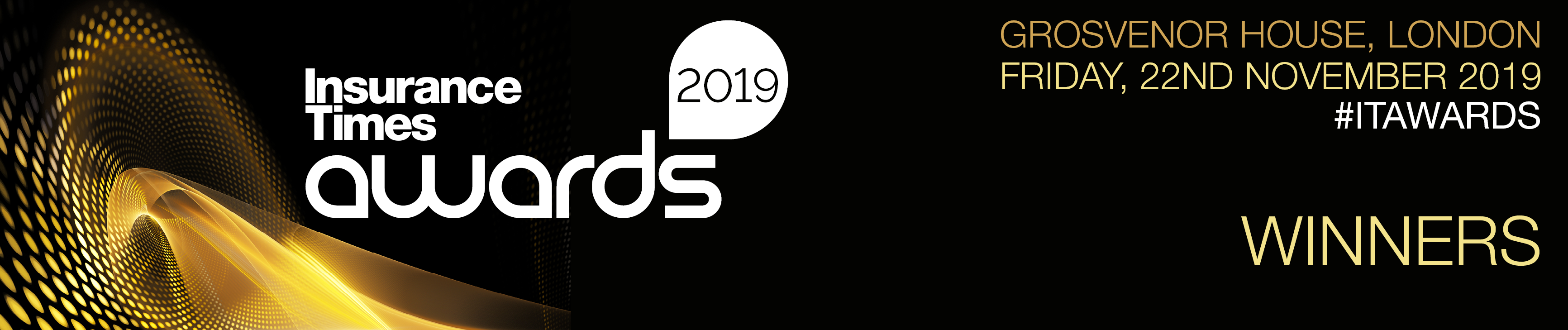 Winners announced | Insurance Times Awards 2019 | Grosvenor House | Friday 22 November 2019
