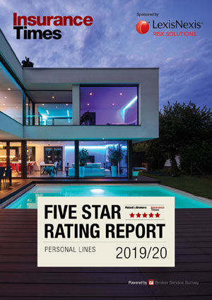 Personal lines 2019/20 | Five Star Ratings Report