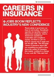 Careers in insurance cover