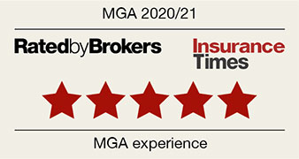 Five stars | MGA Ratings 2020/21 | Insurance Times