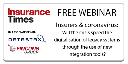 Insurers and coronavirus: Will the crisis speed the digitalisation of legacy systems through the use of new integration tools? | Webinar | Insurance Times