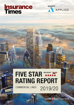 Commercial Lines 2019/20 | Five Star ratings, created for brokers, by brokers | Insurance Times