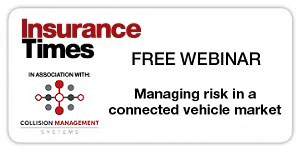Managing risk in a connected vehicle market | Free webinar | Tuesday 24  September, 10.30am | Insurance Times