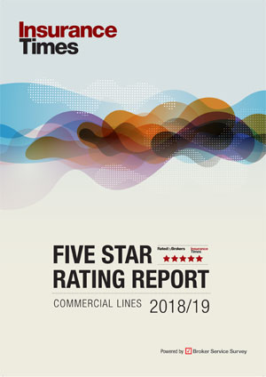 Commercial lines 2018/19 | Five Star Ratings Report